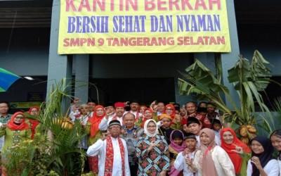 Peresmian Kantin Sehat dan Bank Sampah SMP Negeri 9 Tangerang Selatan